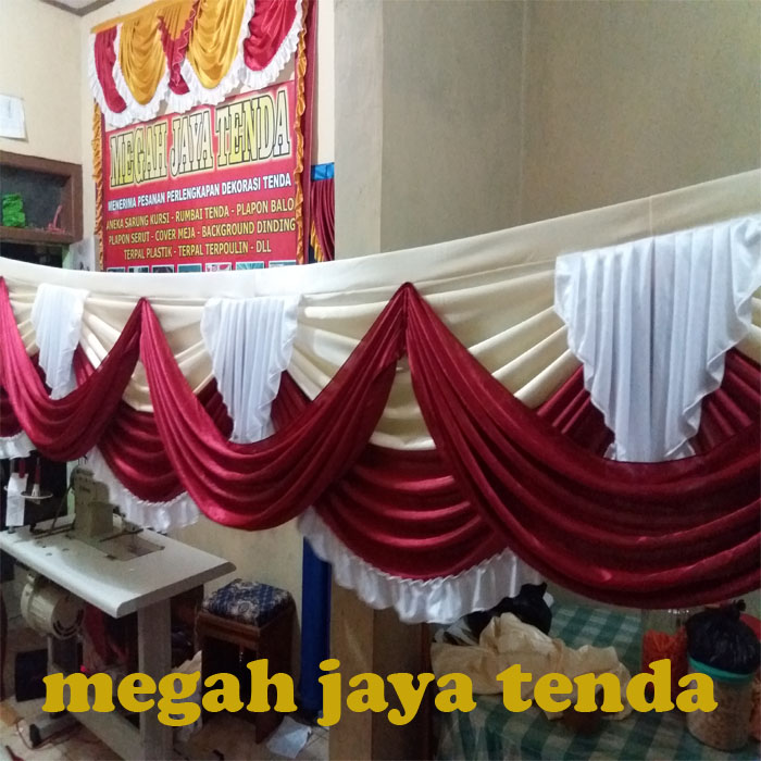 jual rumbai tenda