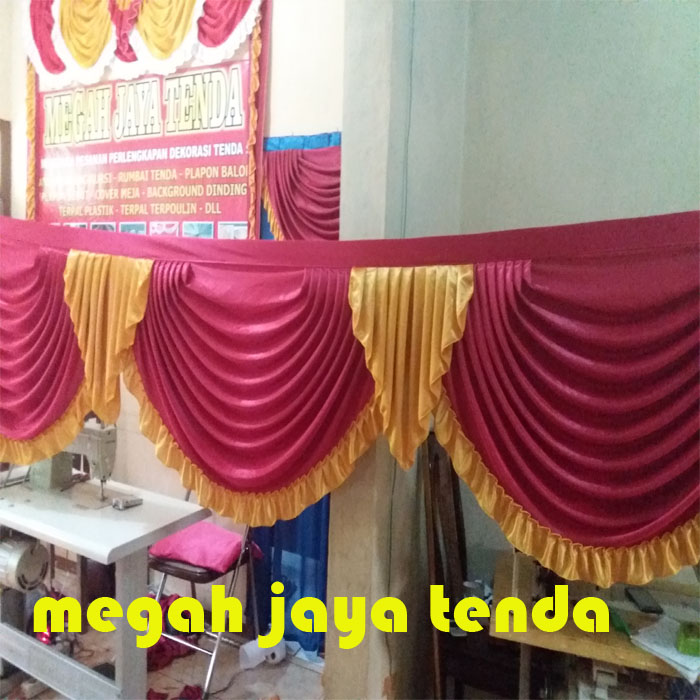 jual rumbai tenda model spanyol