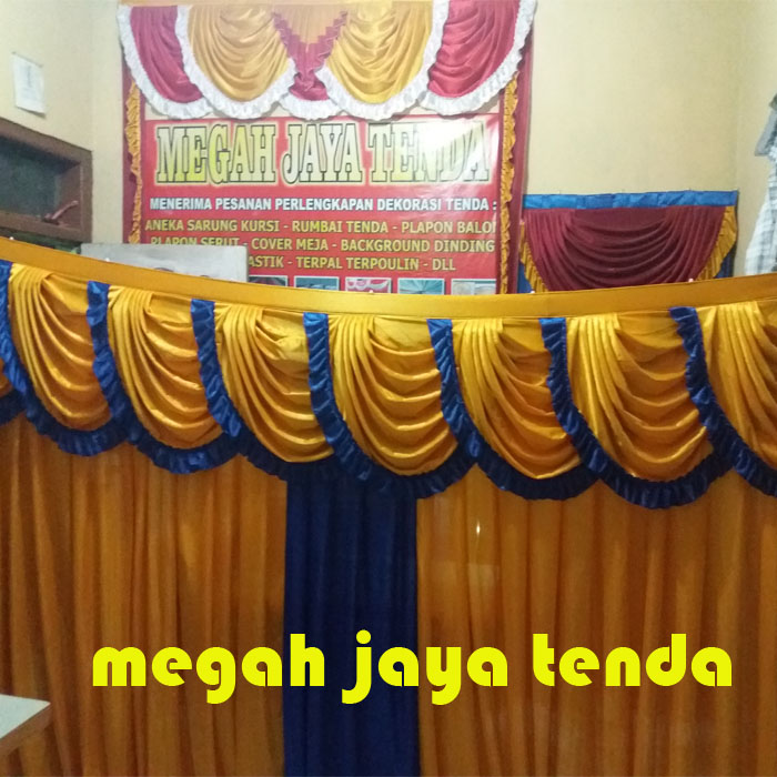 jual background dinding tenda